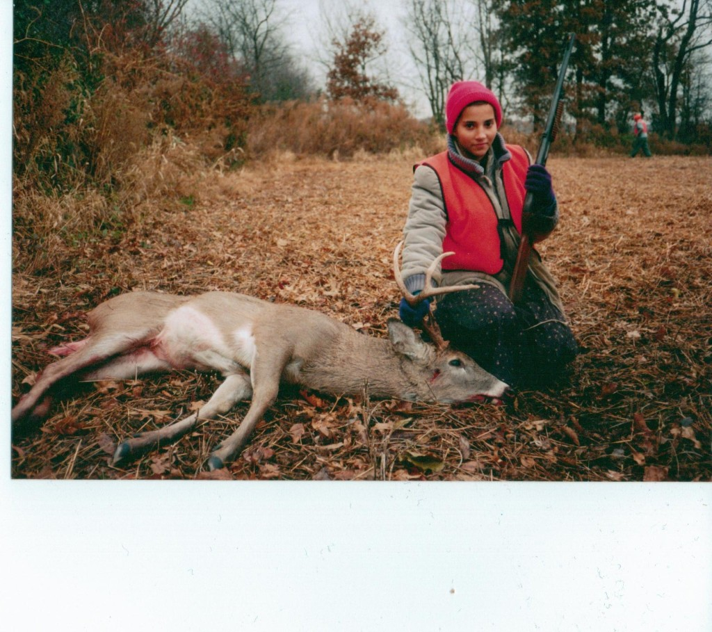 My first deer at age 15.