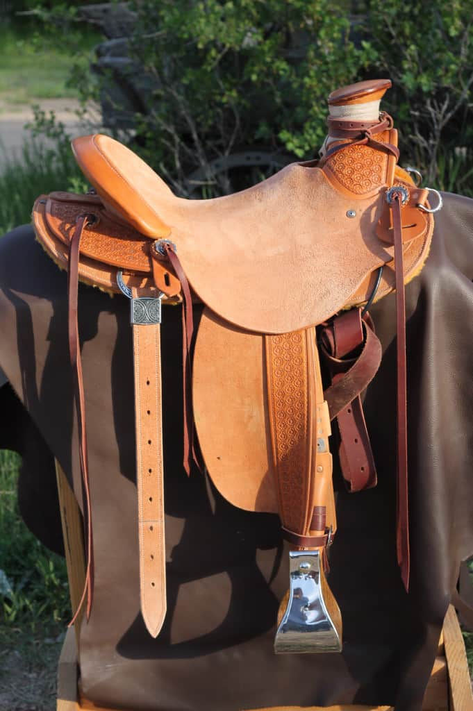 Cliff's personal saddle