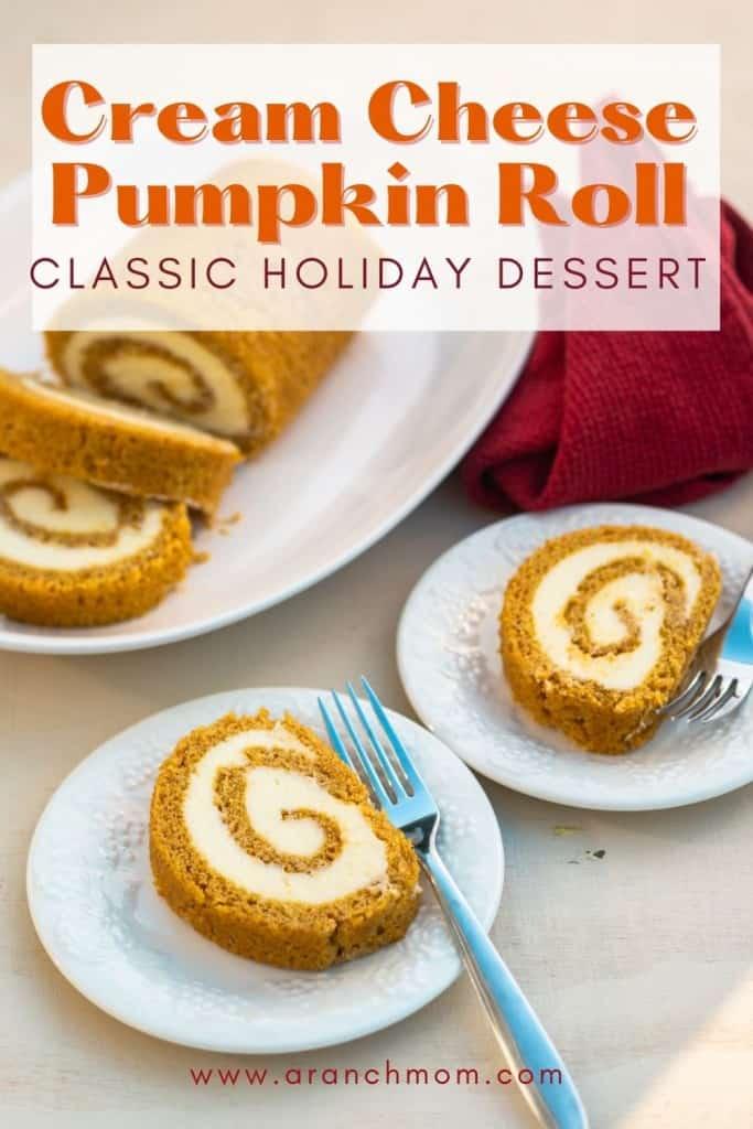 pumpkin cheesecake roll