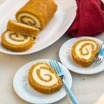 Pumpkin Cheesecake Roll