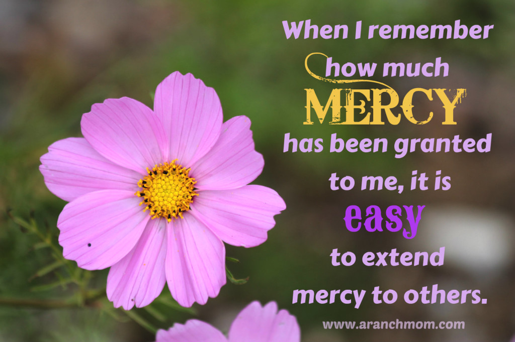 Mercy - @aranchmom