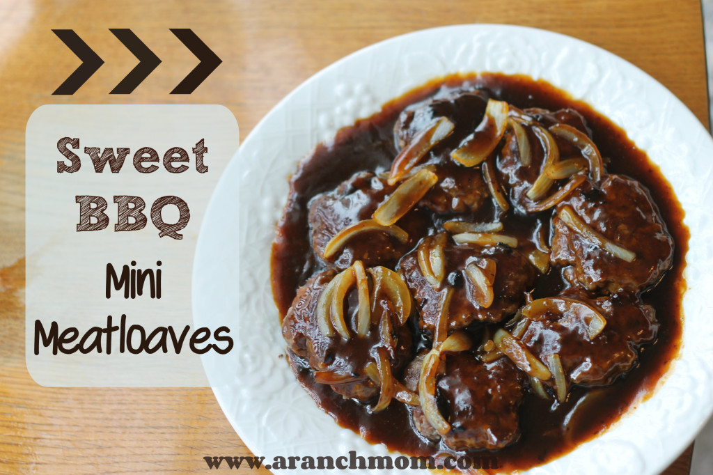 Beef mini meatloaves.