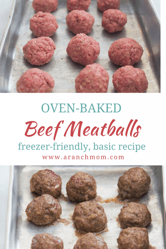 pin image for meatballs