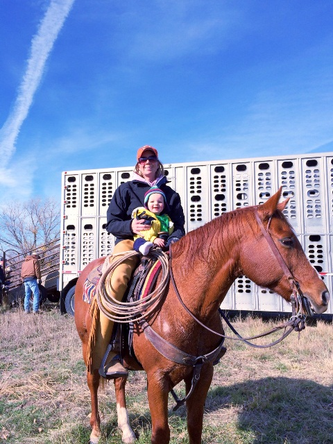 Nebraska cowgirl
