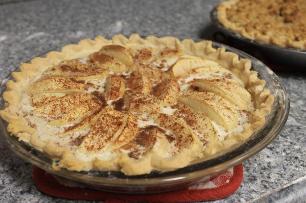custard apple pie