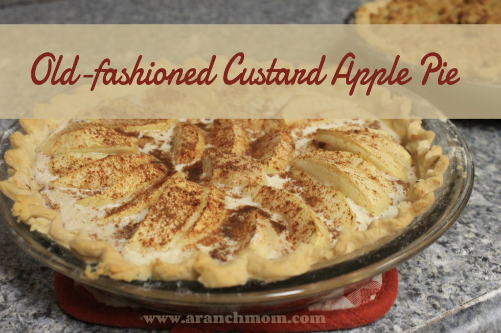 custard apple pie