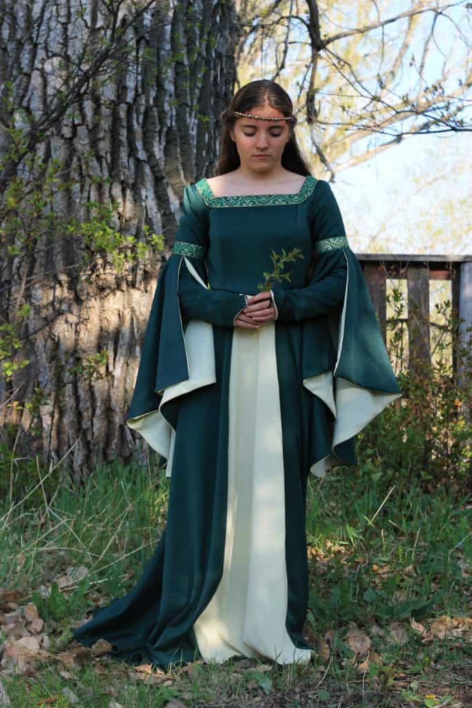 Medieval gown