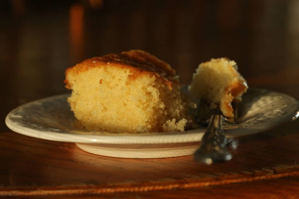 yellow butter cake2