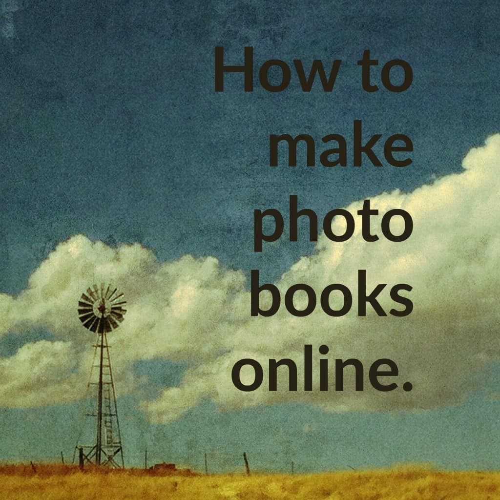 how to make photo books online