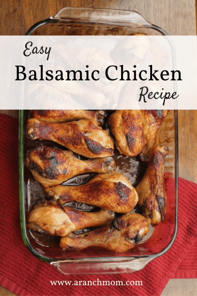 Easy balsamic chicken recipe