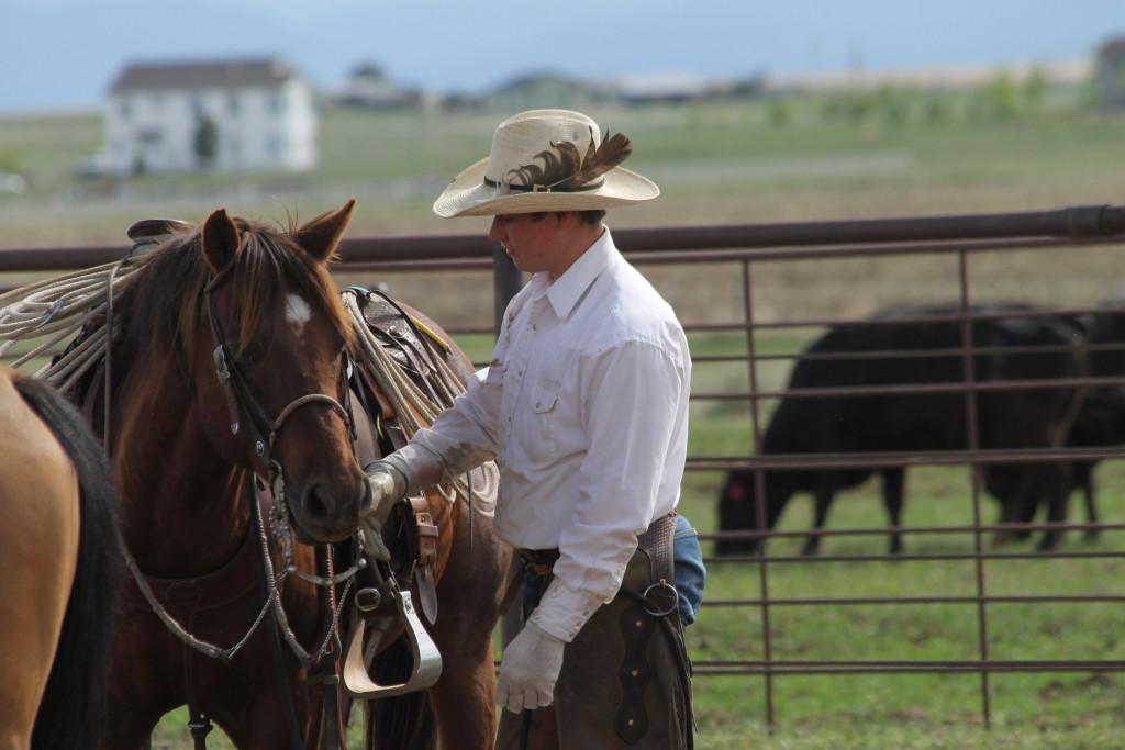 Branding at the Esh ranch