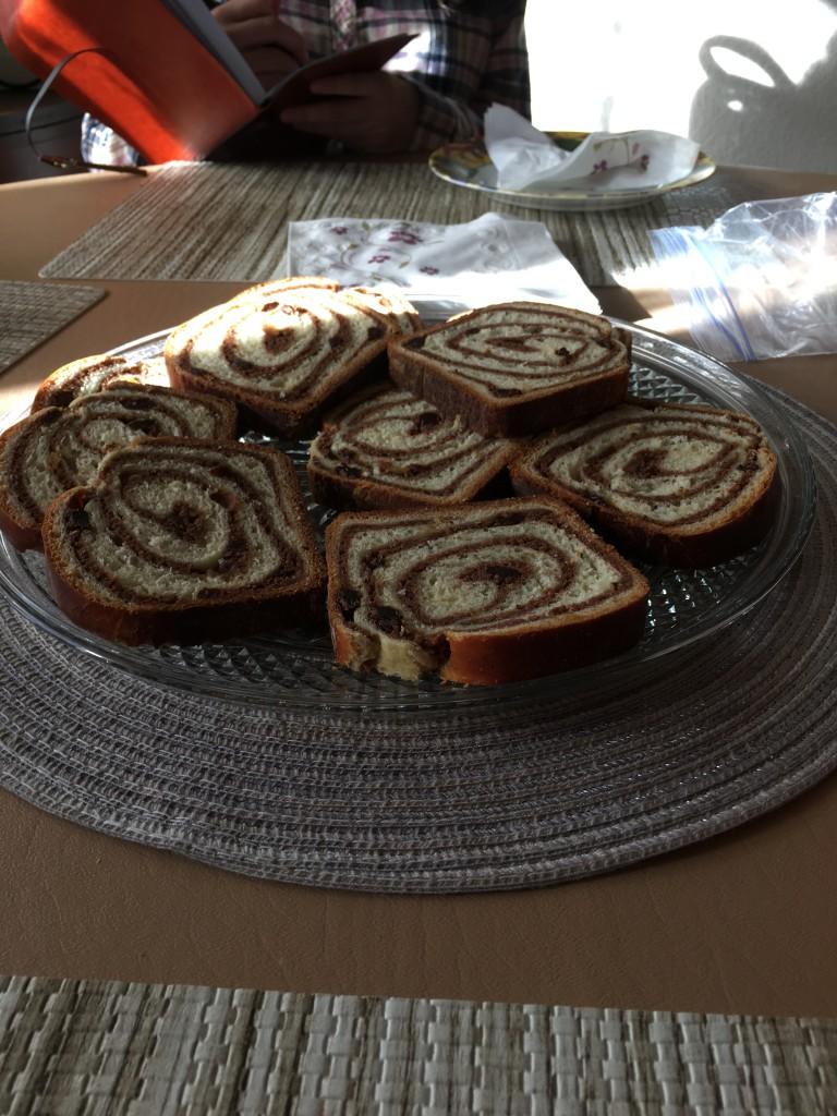 Romanian sweet bread