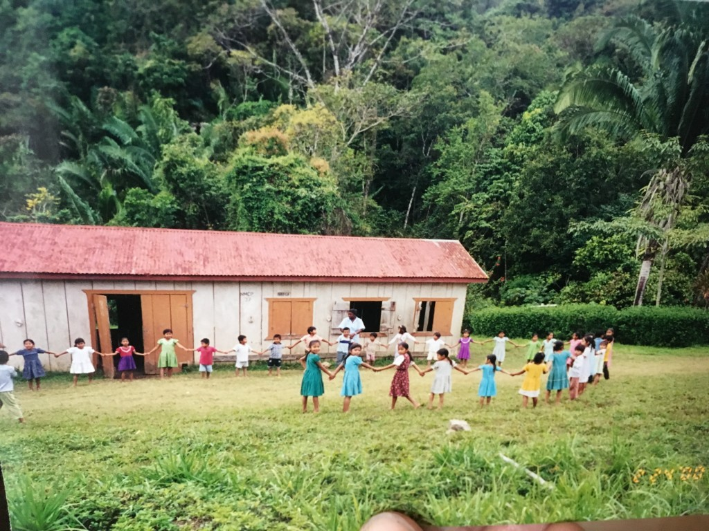A village school in Belize.