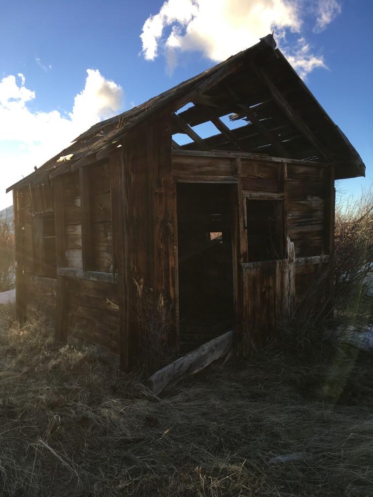 deserted cabin