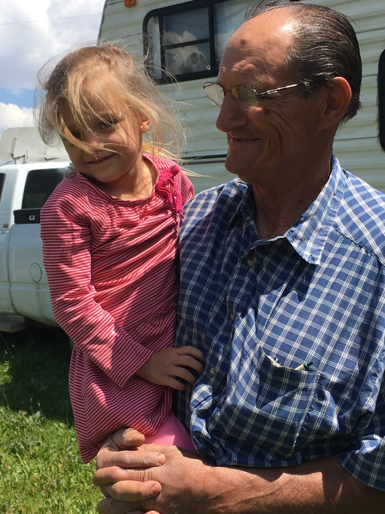 Dad and Reata.