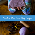 Scented, Non-Toxic Play Dough Recipe