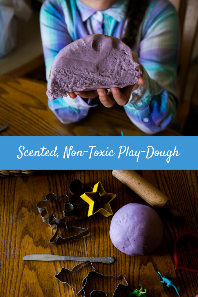 Scented, Non-Toxic Play-Dough