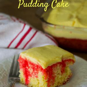 Easy Jello Pudding Cake Recipe