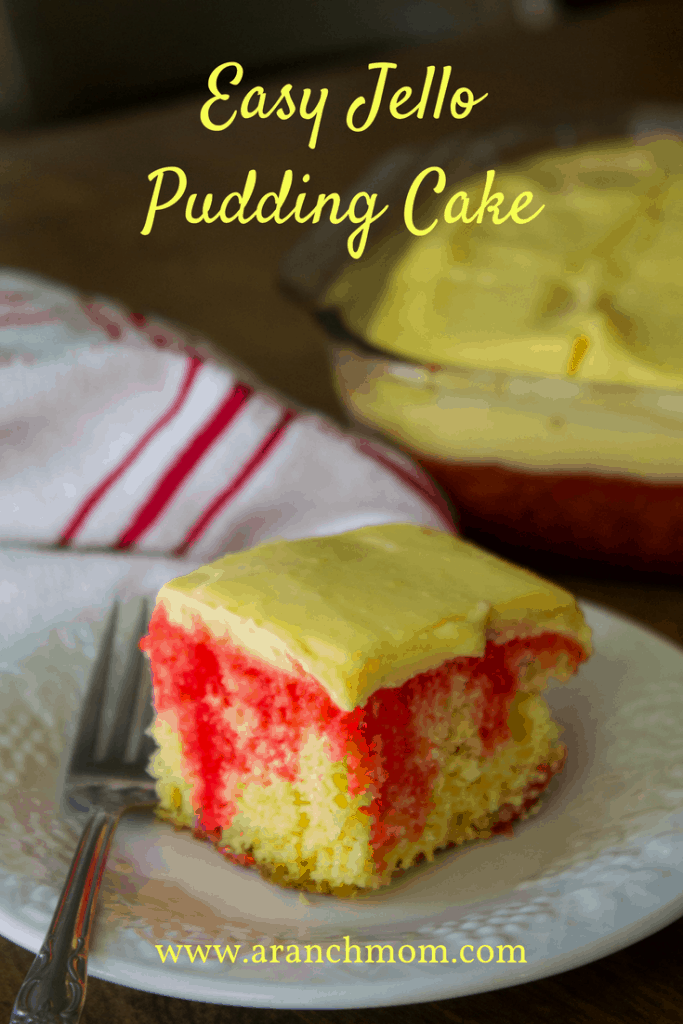 Easy Jello Pudding Cake Recipe