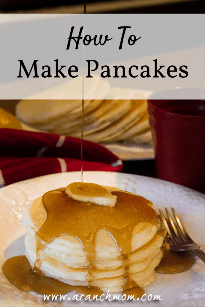 How To Make Pancakes - Easy recipe!