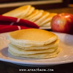 How to make pancakes, easy recipe diy