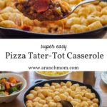 Pizza Tater Tot Casserole Recipe