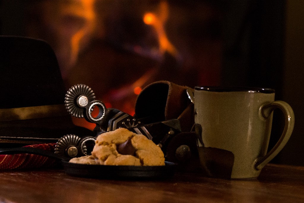 Set your affairs in order (cookies and coffee and spurs by the fire)