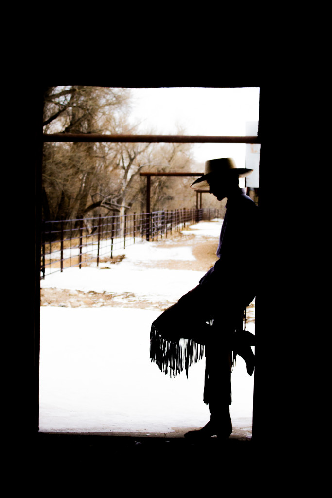 Set your affairs in order (cowboy sillouette)