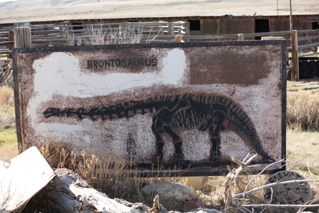 Wyoming fossil house