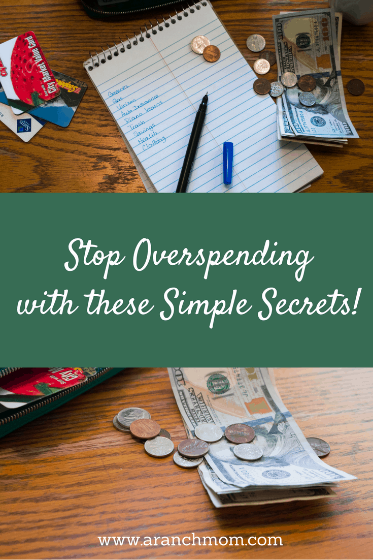Stop Overspending with these simple secrets - money