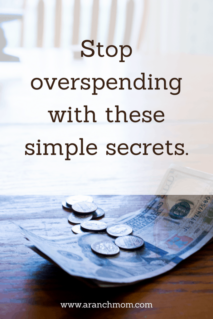 Stop Overspending with these simple secrets - money cash dollars coins