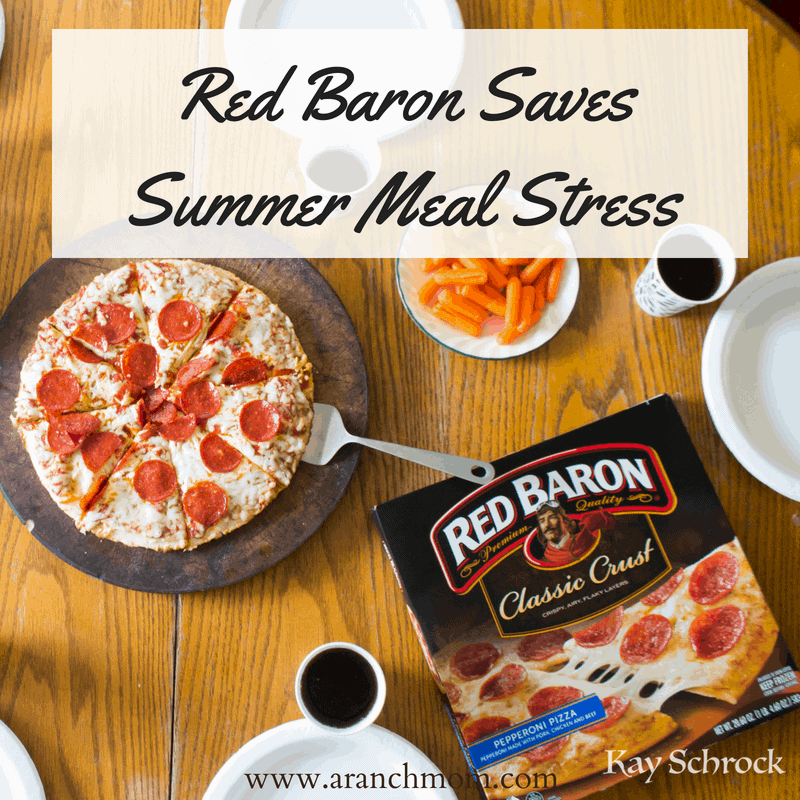 Red Baron Saves Summer Meal Stress