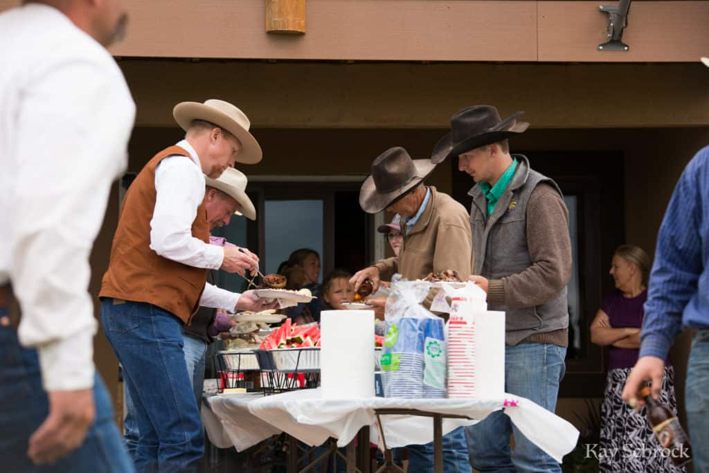 Colorado branding with Amish and Cowboys