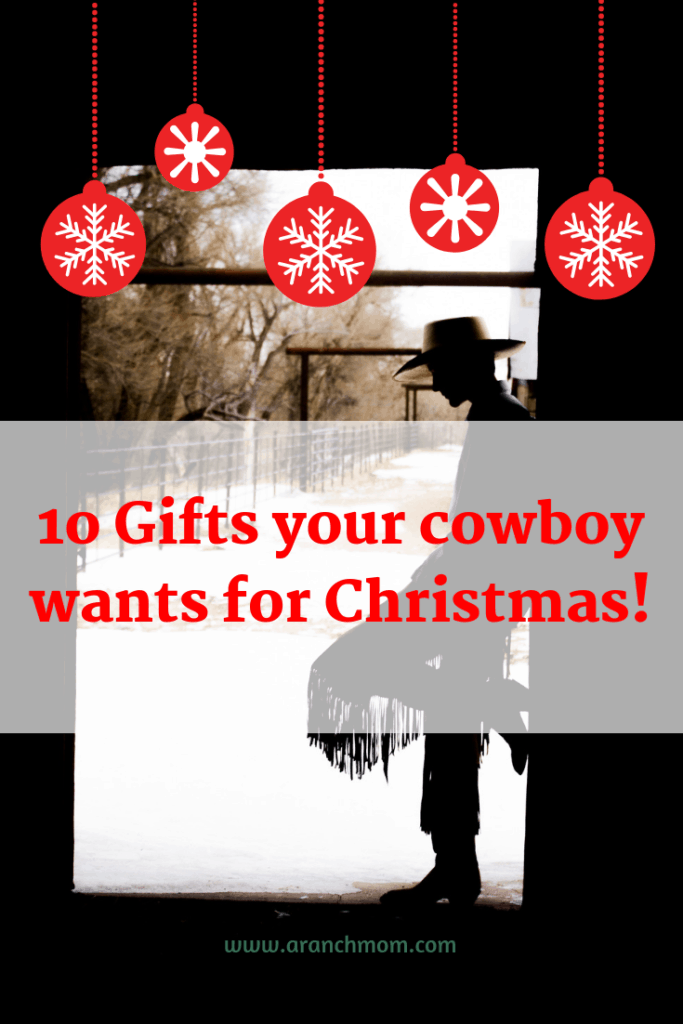 10 Christmas gifts for cowboys.