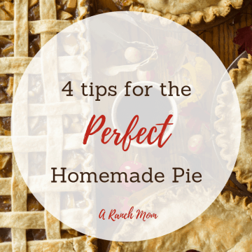 4 tips for the perfect homemade pie.