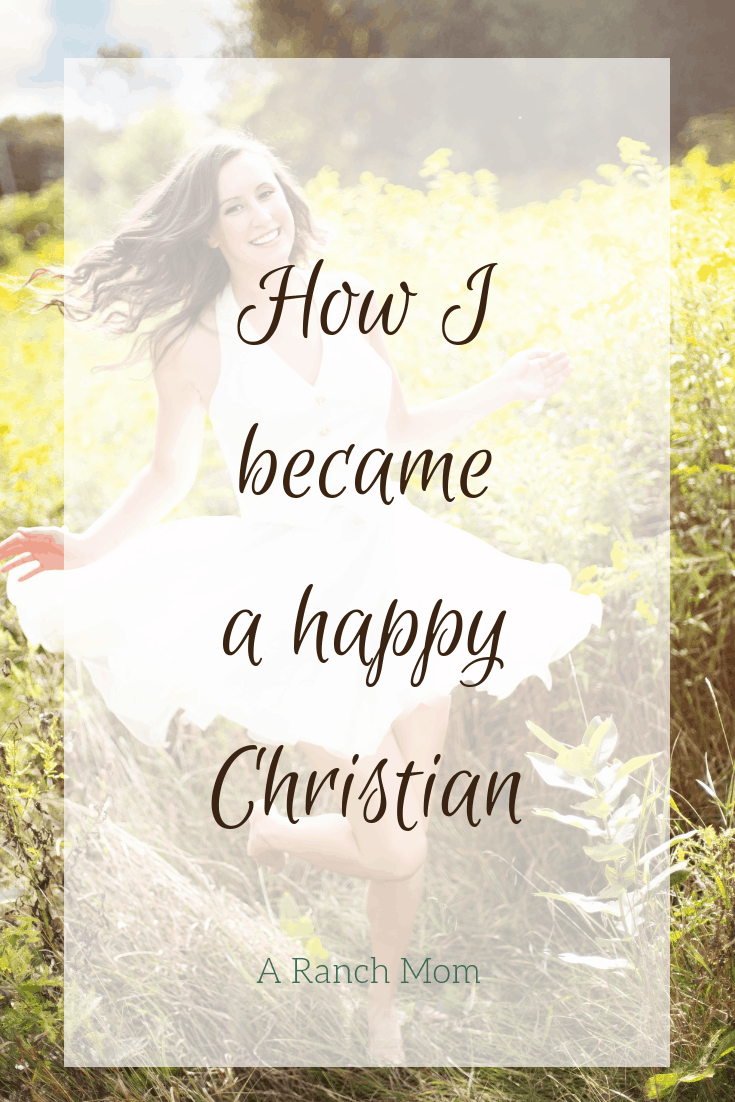 How to become a happy Christian