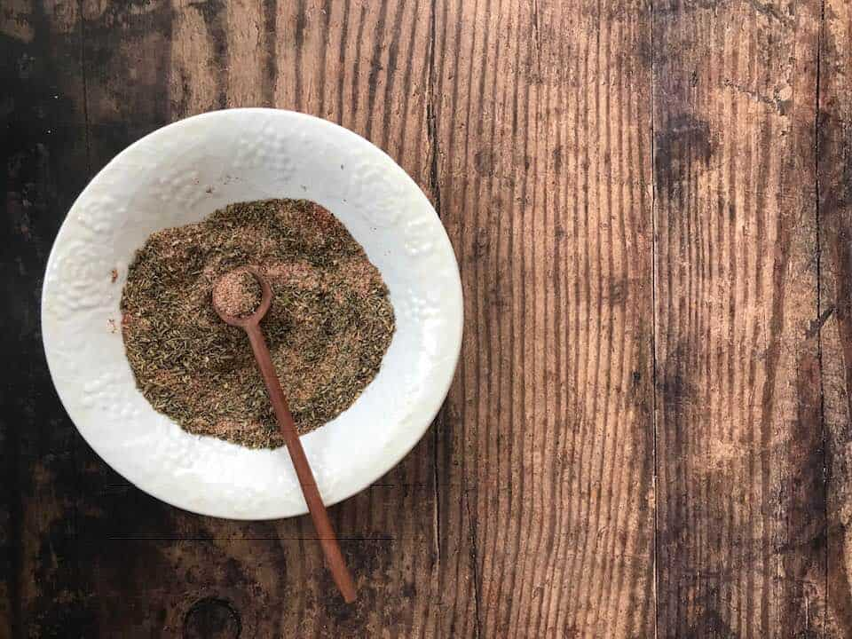 Blackened Seasoning recipe, delicious on fish or chicken