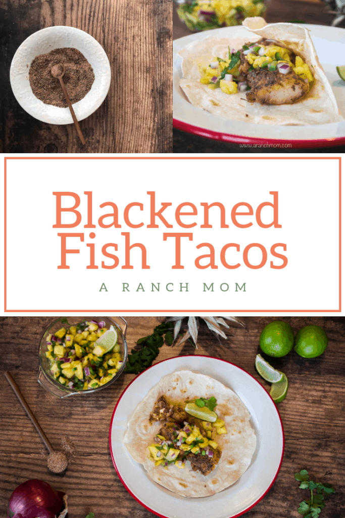 Blackened fish tacos #easy #hearthealthy #seafood #trout #co