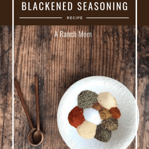 Blackened Seasoning recipe, delicious with fish or chicken