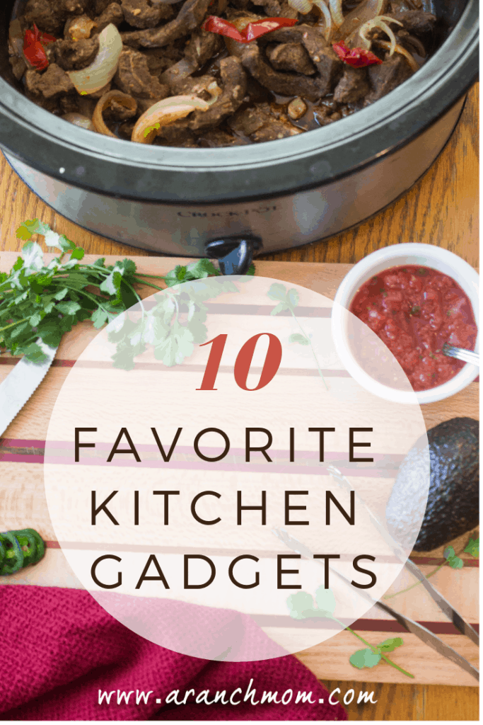 Favorite Kitchen Gadgets that I use nearly every day! From spatulas to mixers.