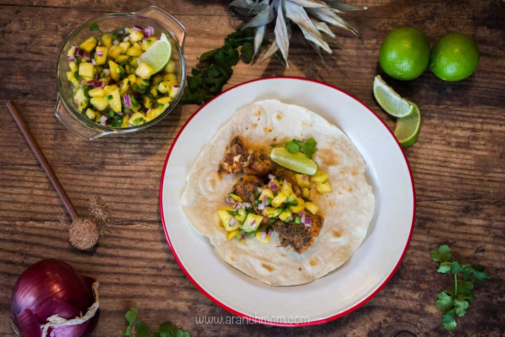 Blackened fish tacos #hearthealthy #lowfat #easy #dinner #seafood #recipe #trout #cod #tilapia