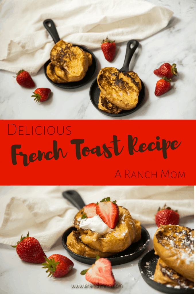 French Toast Recipe, easy to make at home! #breakfast
