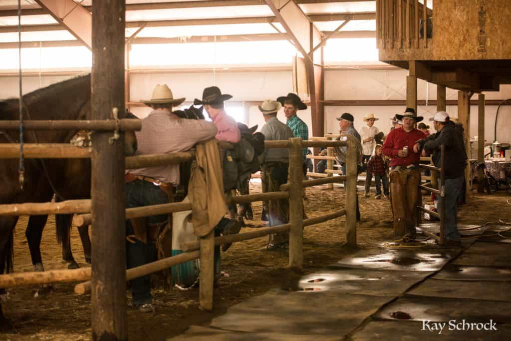 Esh Branding in Colorado - cowboys taking a break