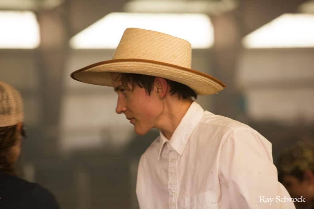 Esh Branding in Colorado - young cowboy