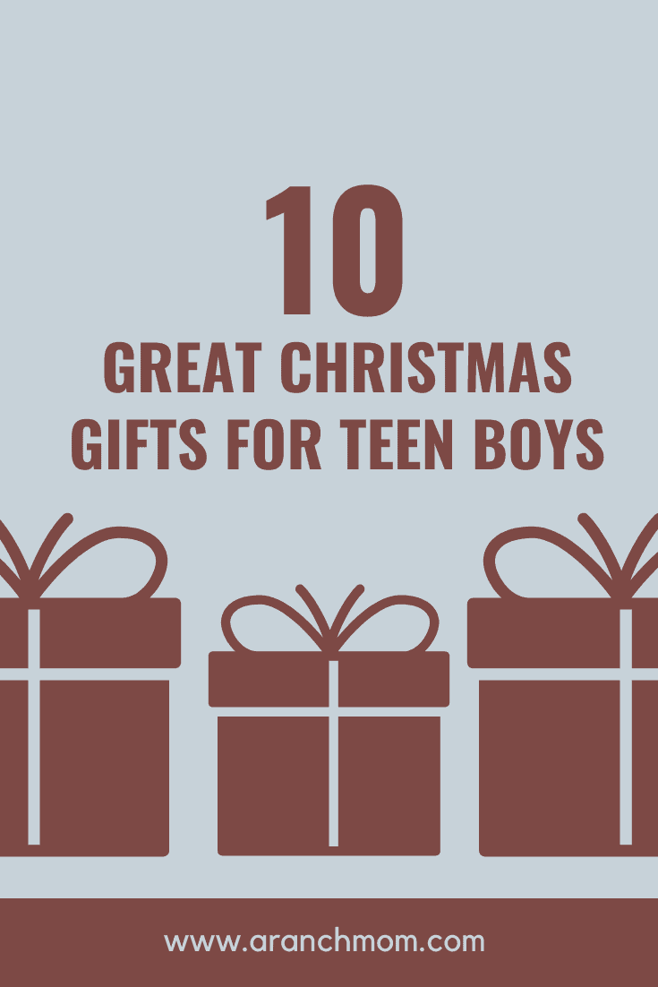 10 great Christmas gifts for teen boys