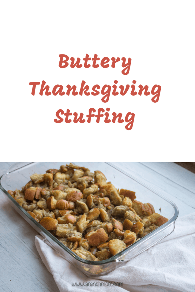 Buttery Thanksgiving Stuffing Recipe