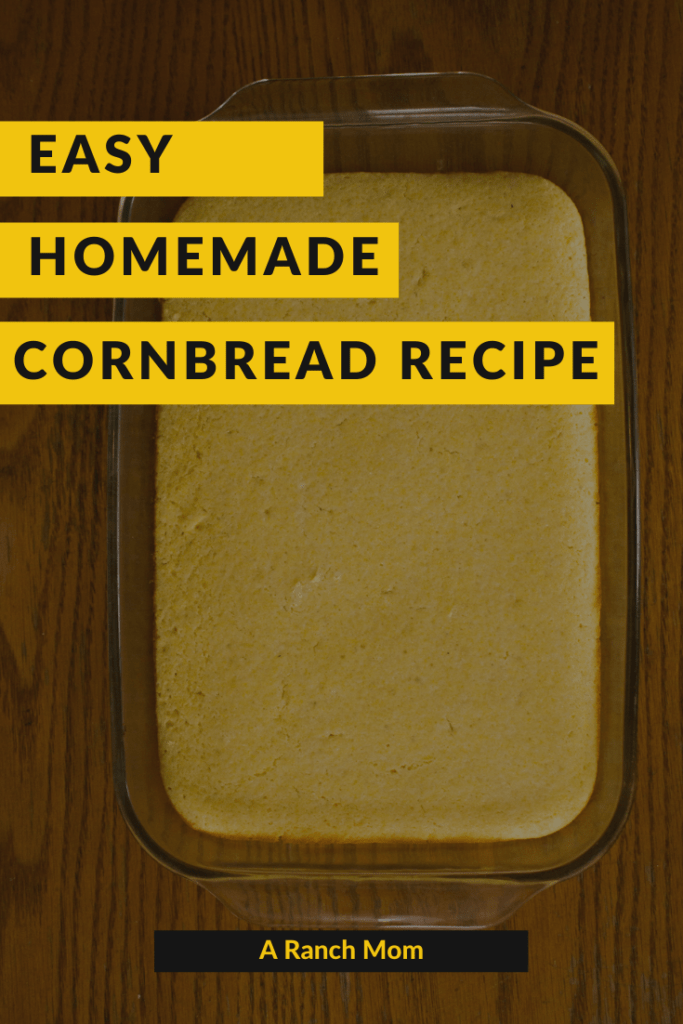 Easy Homemade Cornbread Recipe
