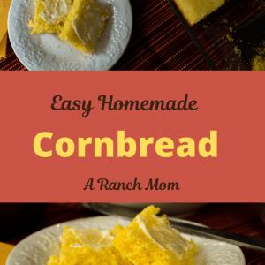 Easy Homemade Cornbread Recipe