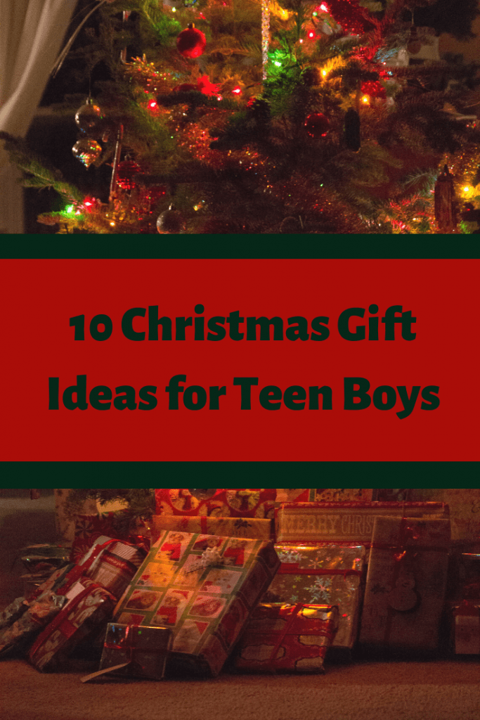 10 Christmas gift ideas for teen boys