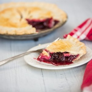 Blackberry pie recipe - a tale of summertime foraging and homemade pie.